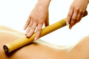 Massagem Bamboterapia